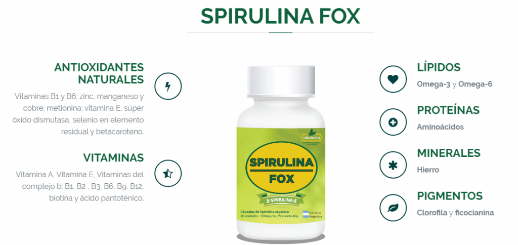 spirulina fox